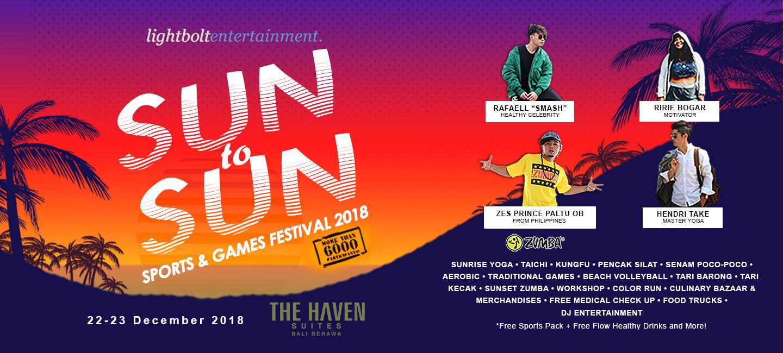 image Sun to Sun Sports & Games Festival 2018 Ajak Masyarakat Hidup Sehat