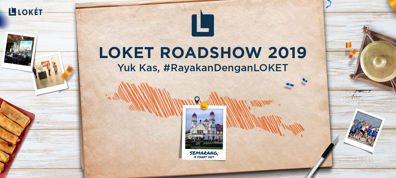 image Yuk, Intip Keseruan LOKET Roadshow Semarang!