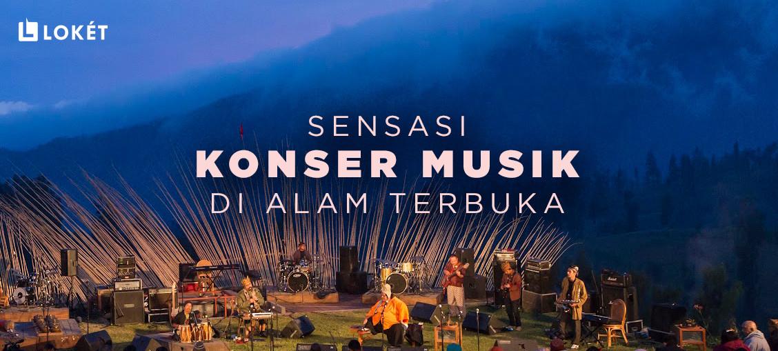image Pertunjukan Musik di Alam Terbuka, Tren Baru Dunia Hiburan!