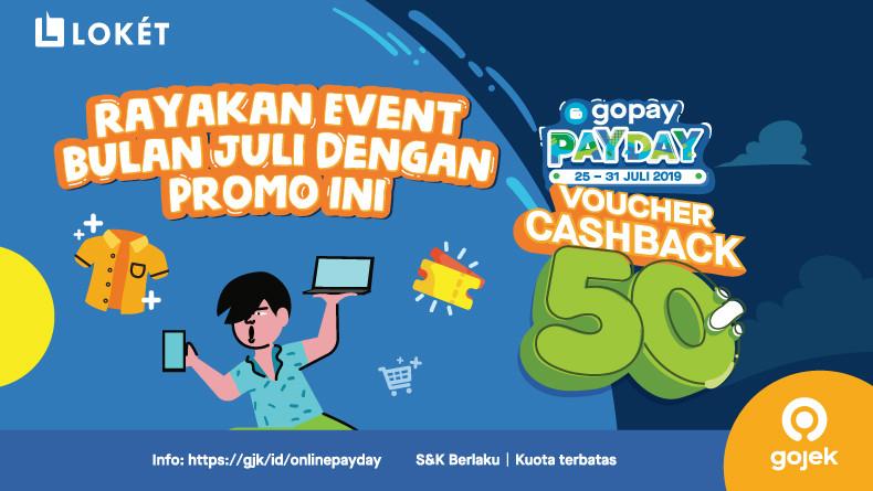 image Yuk, Rayakan Event dengan Promo GoPay Payday di bulan Juli