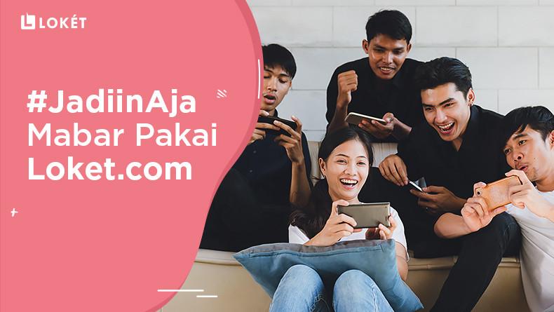 image Suka Main Game? #JadiinAja Mabar Pakai Loket.com!