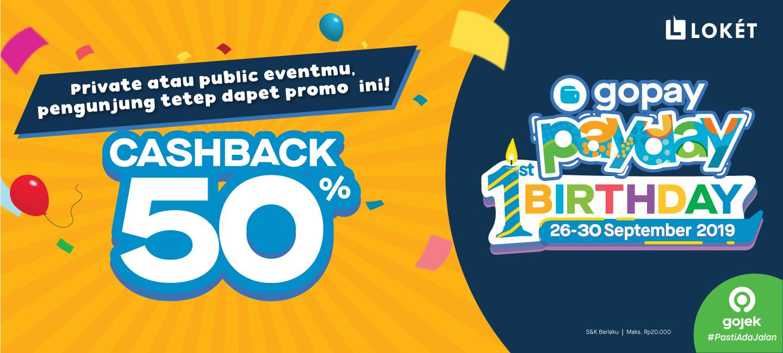 image Event Private atau Public, Pengunjung Tetap Dapat GoPay Payday!