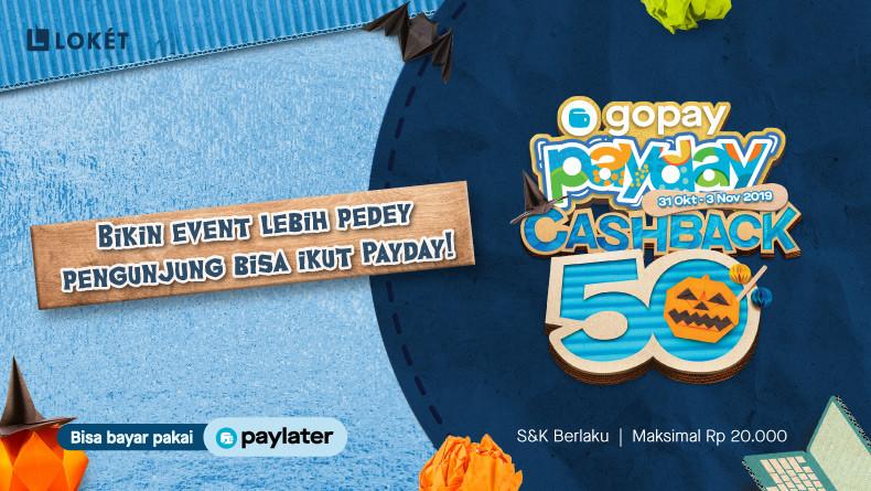 image Bikin Event Bulan Oktober Lebih Pedey karena Ada GoPay Payday!