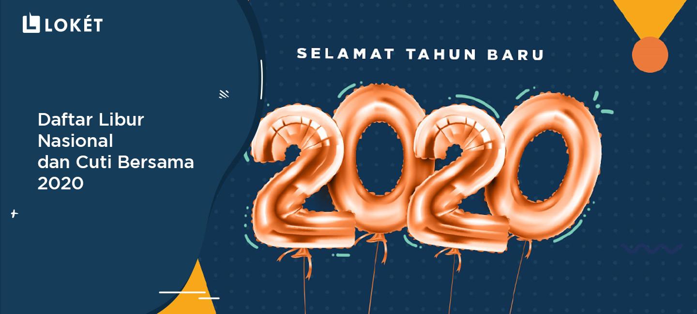 image Daftar Hari Libur Nasional & Cuti Bersama 2020