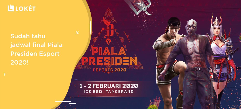 image Piala Presiden Esport 2020: Ini Jadwal Pertandingan Grand Finalnya!