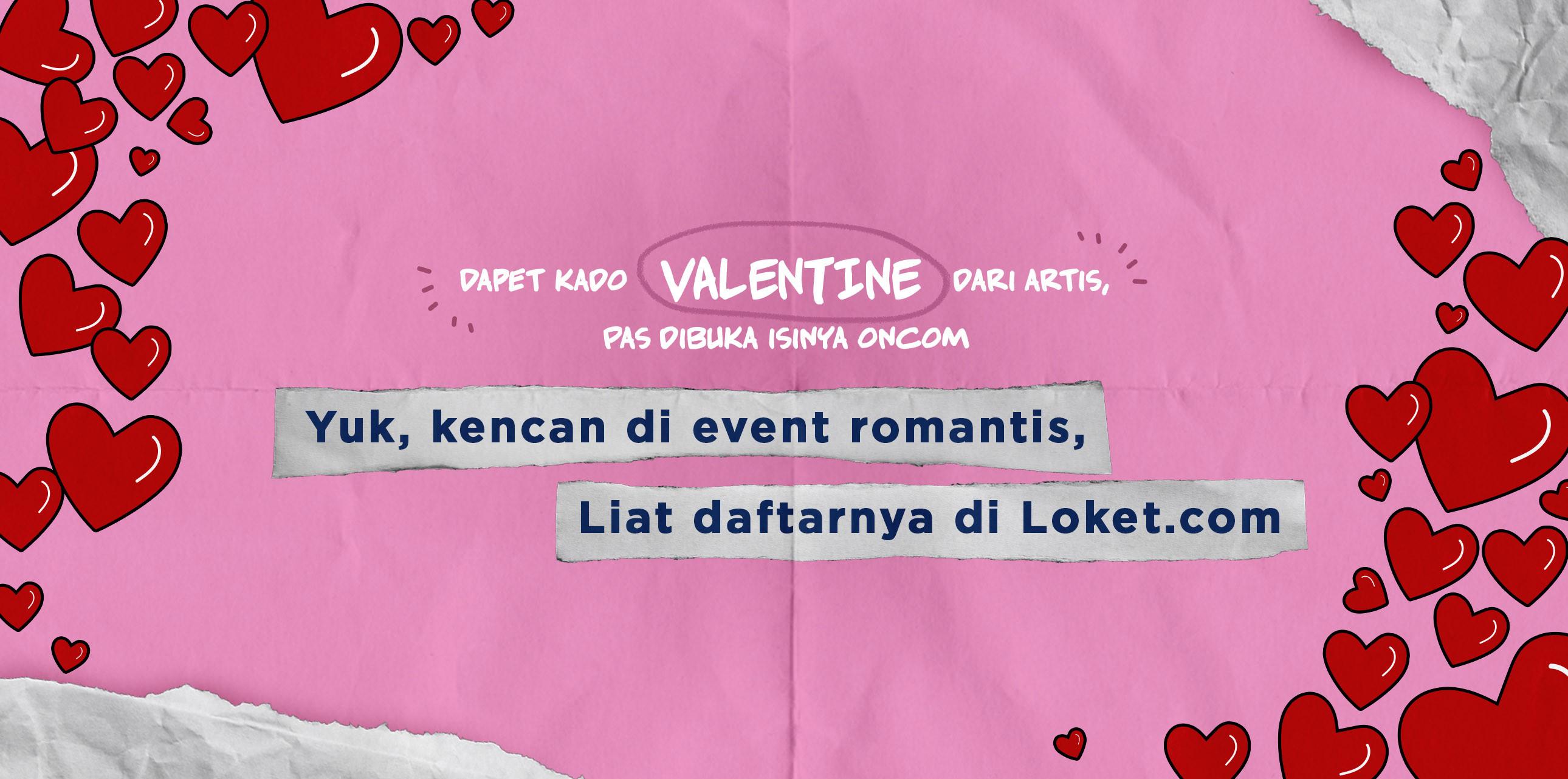 Valentine with LOKET