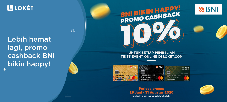 image Lebih Hemat Lagi, Promo Cashback BNI Bikin Happy!