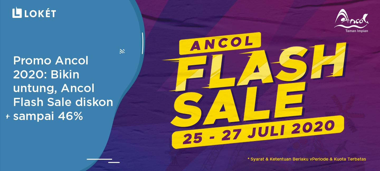 image Promo Ancol 2020: Bikin Untung, Ancol Flash Sale Diskon Sampai 46%