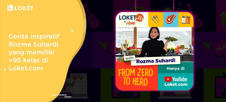 image Cerita Inspiratif Rozma Suhardi yang Memiliki Lebih Dari 95 Kelas di Loket.com