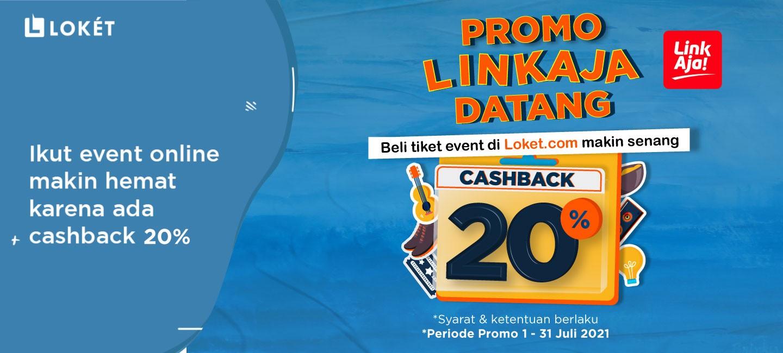 image Promo Cashback 20% dari LinkAja